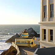 Cliff House Giant Camera Art Print
