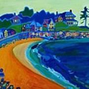 Cliff House near Hampton Beach NH Art Print