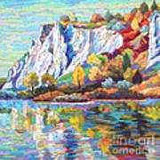 Cliff Landscape Art Print