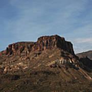 Cliffs Above Apache Lake Art Print