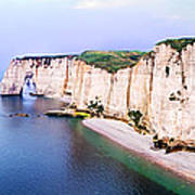 Cliffs Of Etretat 3 Art Print