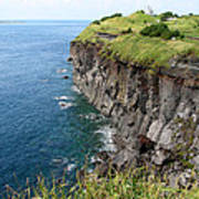 Cliffs Of Korea Art Print
