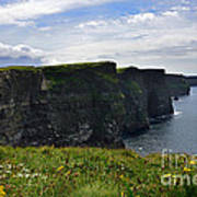Cliffs Of Moher Looking South Art Print