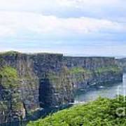 Cliffs Of Moher Panorama 3 Art Print