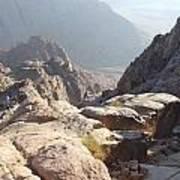 Cliffs Of Mount Sinai Art Print