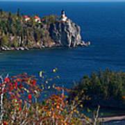 Cliffside Scenic Vista Art Print