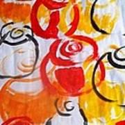 Climbing Roses  Art Print