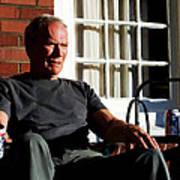 Clint Eastwood @ Grand Torino- 2 Art Print