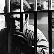 Clint Eastwood In Escape From Alcatraz  Art Print