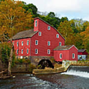 Clinton Mill II  Art Print