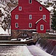Clinton Mill Art Print