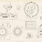 Clock Mechanism, 19th Century Art Print by Science Photo Library