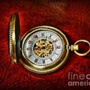 Clock - The Pocket Watch Print by Paul Ward