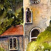 Clock Tower England Art Print