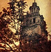 Clock Tower Art Print