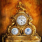 Clockmaker - Anyone Have The Time Art Print by Mike Savad