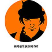 Clockwork Orange Poster 1 Art Print