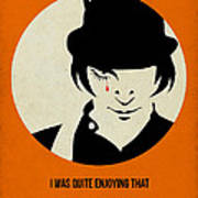 Clockwork Orange Poster Art Print