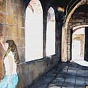 Cloisters Art Print