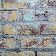 Close-up Of Old Brick Wall Art Print