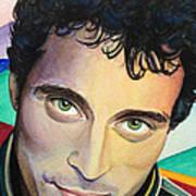 Close Up Portrait Rufus Sewell Art Print