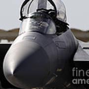 Close-up View Of A F-15c Eagle Art Print