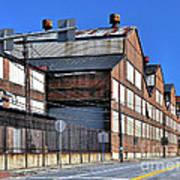 Closed Steel Mill Art Print