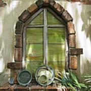 Closed Window Art Print
