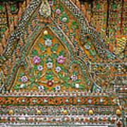 Closeup Of Temple Of The Dawn/wat Arun In Bangkok-thailand Art Print