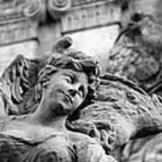 Closeup View Of The Original Baroque Sculpture Art Print