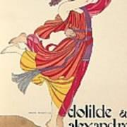 Clotilde And Alexandre Sakharoff Art Print