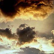 Golden Cloud Art Print