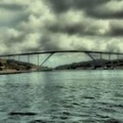 Cloud Bridge Art Print
