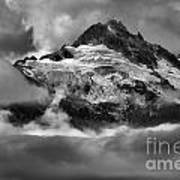 Cloud Layers Over Tantalus Art Print