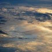 Cloud Reflection Art Print