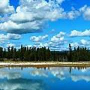 Cloud Reflections Art Print