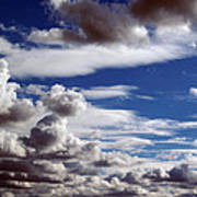 Cloud Ten Enhanced Art Print