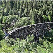 Cloudcroft Railroad Trestle Art Print