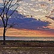 Clouding Up On Oyster Bay Art Print