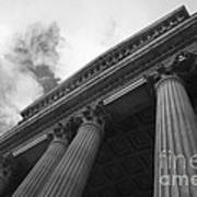 Clouds Above St Pauls Cathedral Art Print