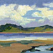 Clouds At Vashon Island Art Print