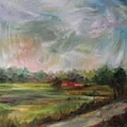 Clouds Dancing  Art Print