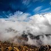 Clouds In Haleakala Art Print