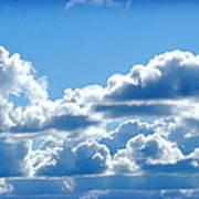 Clouds Of Glory II Art Print