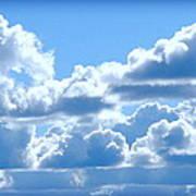 Clouds Of Glory Art Print