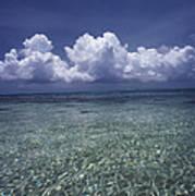 Clouds Over Bora Bora Art Print