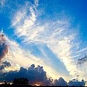 Clouds Over Comfort Art Print