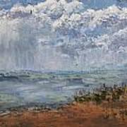 Clouds Over Lake Michigan Art Print