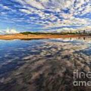 Clouds Over Narrabeen Lake Art Print