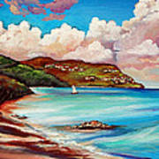 Clouds Over Paradise Art Print
